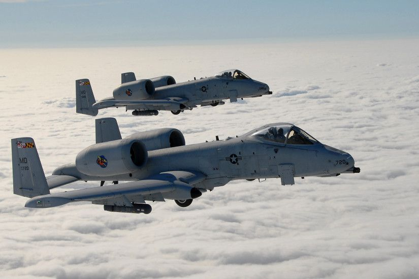 Fairchild Republic A-10 Thunderbolt II 2560x1600 Wallpaper