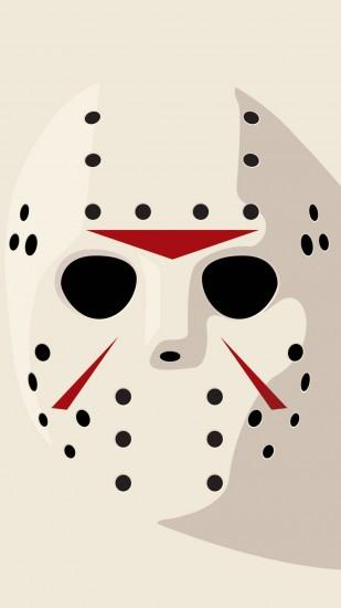 Jason Friday 13th Hockey Mask #iPhone #6 #plus #Wallpaper