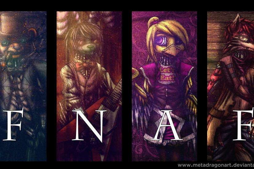 top five nights at freddys wallpaper 3000x1688 ipad
