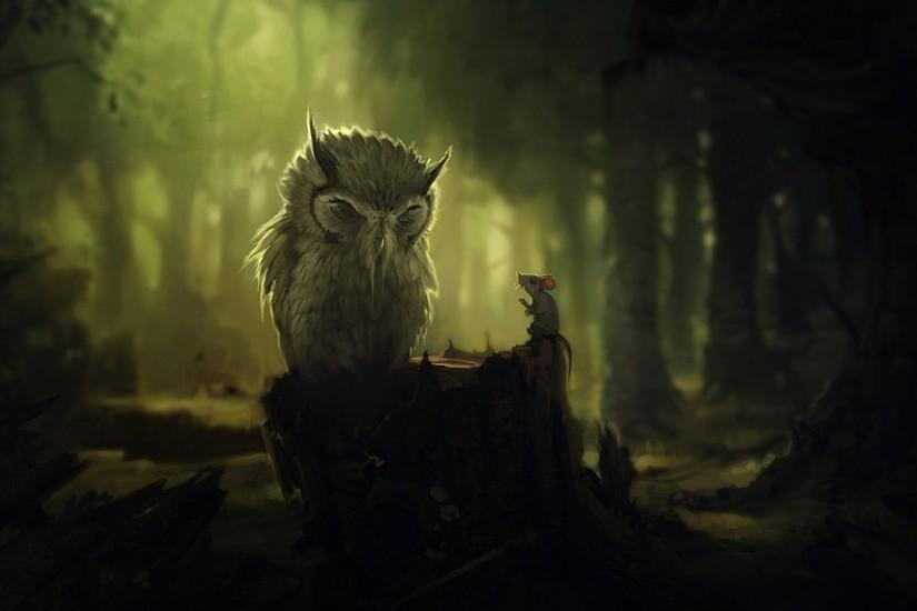 wallpaper owls | Owl Background thumb Owl Background