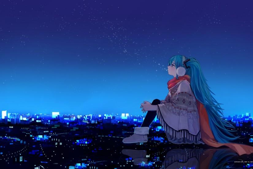 hatsune miku wallpaper 1920x1200 cell phone