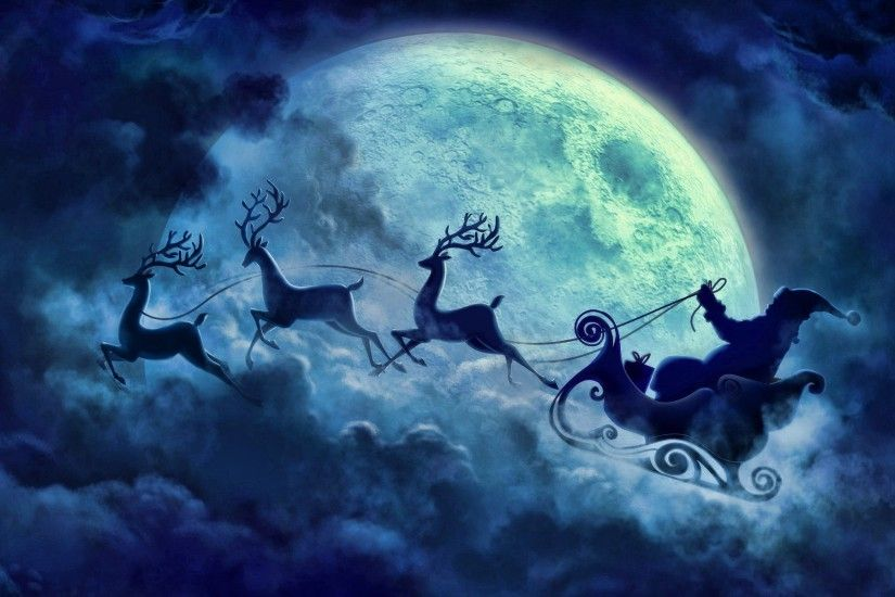 santa, Santa Claus, Christmas, Snow, Winter Wallpapers HD / Desktop and  Mobile Backgrounds