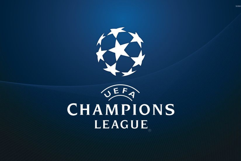 UEFA Champions League white logo wallpaper