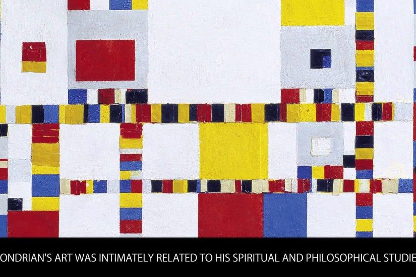 Mondrian - Famous Painters Bios - Wiki Videos by Kinedio