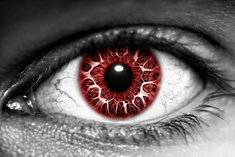 Blood Red Eye wallpaper from Eyes wallpapers