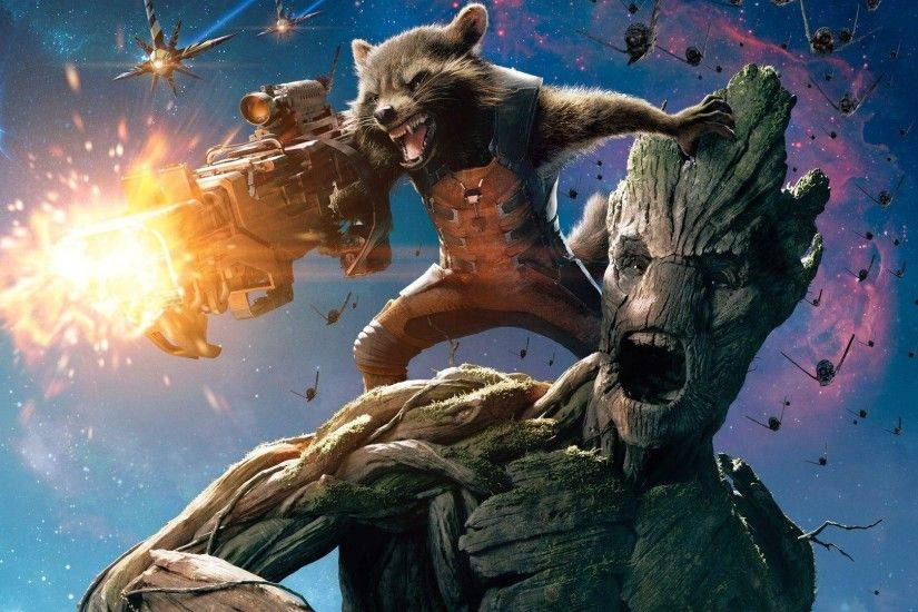 114 Rocket Raccoon HD Wallpapers | Backgrounds - Wallpaper Abyss