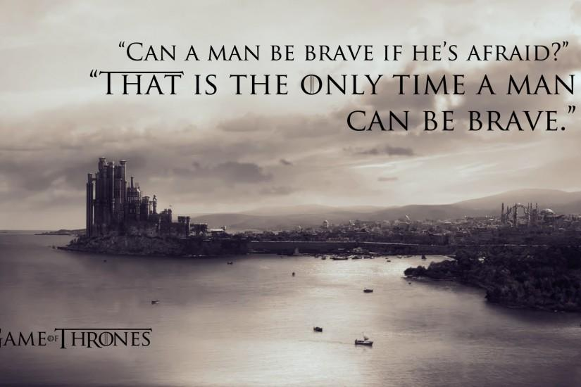 Quotes braviary eddard ned stark Game of Thrones kings landing TV series