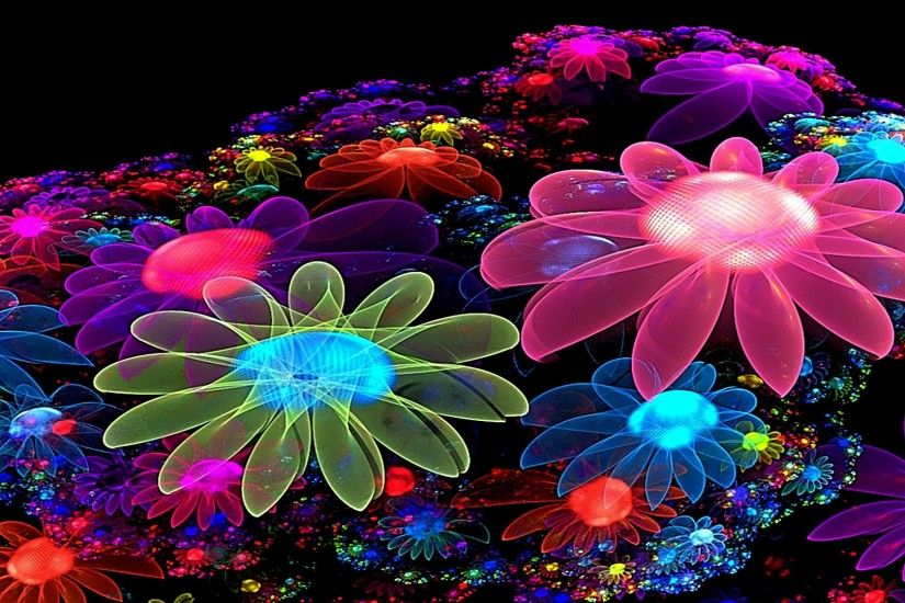 Cool Colorful Flowers Desktop Wallpapers Free Images #8221 | HD .