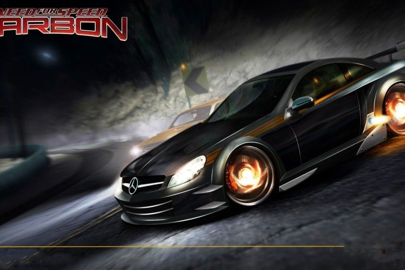 Video games need for speed carbon wallpaper
