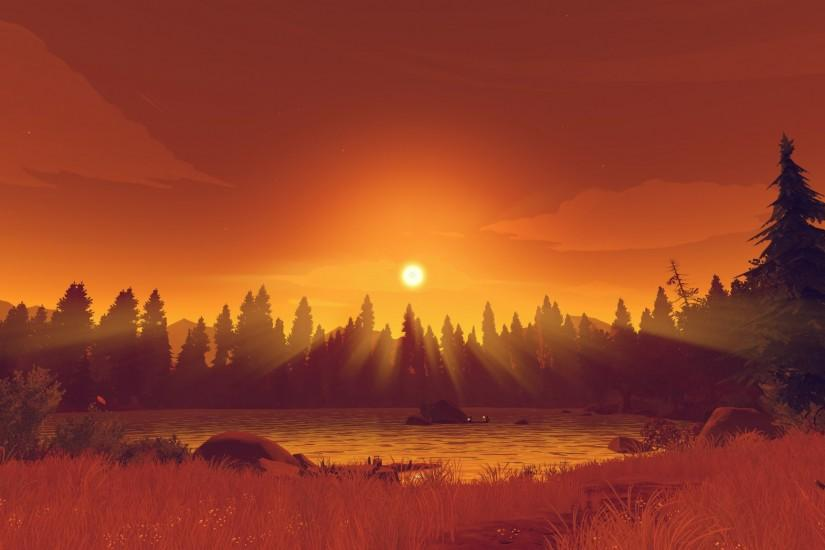 beautiful firewatch wallpaper 2048x1152