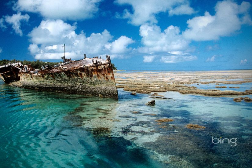 bing pictures desktop background | Bing Shipwreck on Heron Island, desktop  background, Australia,