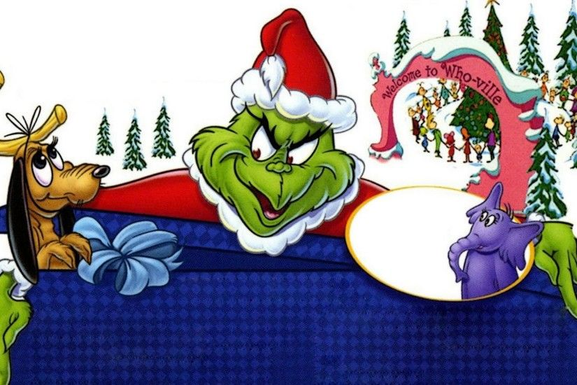 1 Dr. Seuss' How the Grinch Stole Christmas! HD Wallpapers | Backgrounds -  Wallpaper Abyss