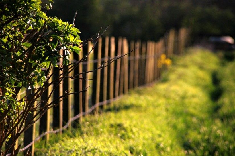 Fence Bokeh HD Wide Wallpaper for Widescreen (53 Wallpapers) – HD Wallpapers