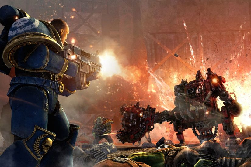 Warhammer 40K Space Marine wallpaper