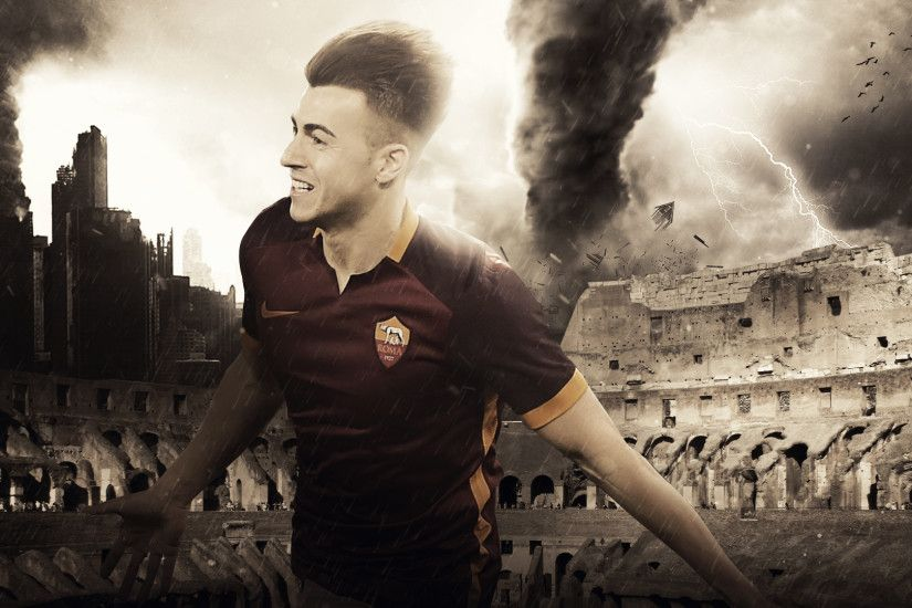 El Shaarawy Wallpaper by berooo123 on DeviantArt. Forza27 » Walls by  RakaGFX Part II