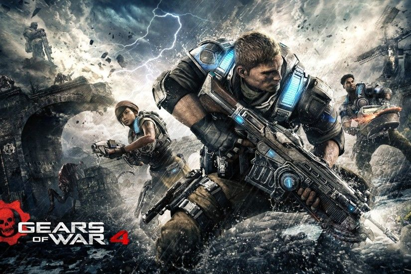 General 2560x1440 Gears of War 4 Xbox One video games