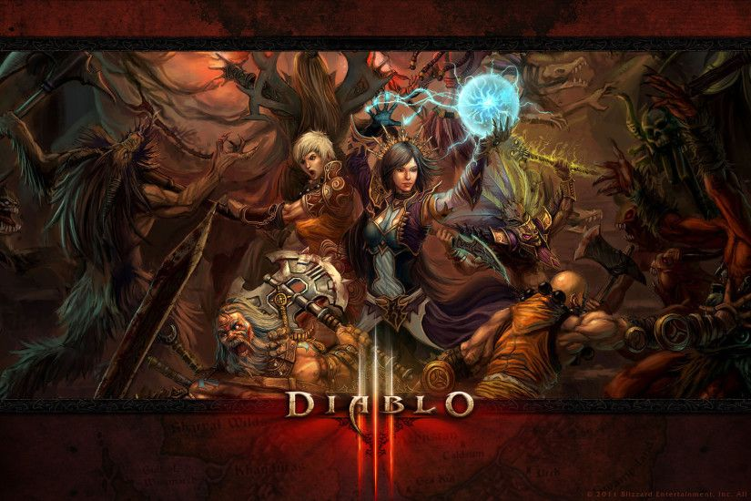Video Game - Diablo III Witch Doctor (Diablo III) Barbarian (Diablo III)