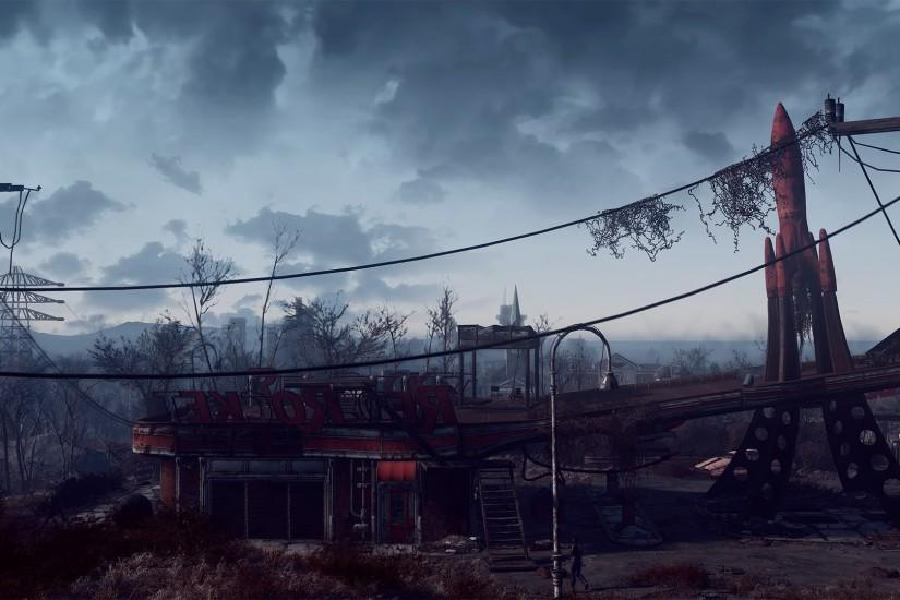 beautiful fallout 4 background 2560x1080 for mac