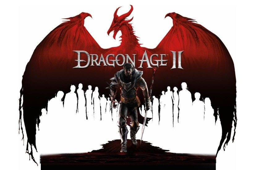3840x2160 Wallpaper dragon age 2, hawke, arm, look, dragon