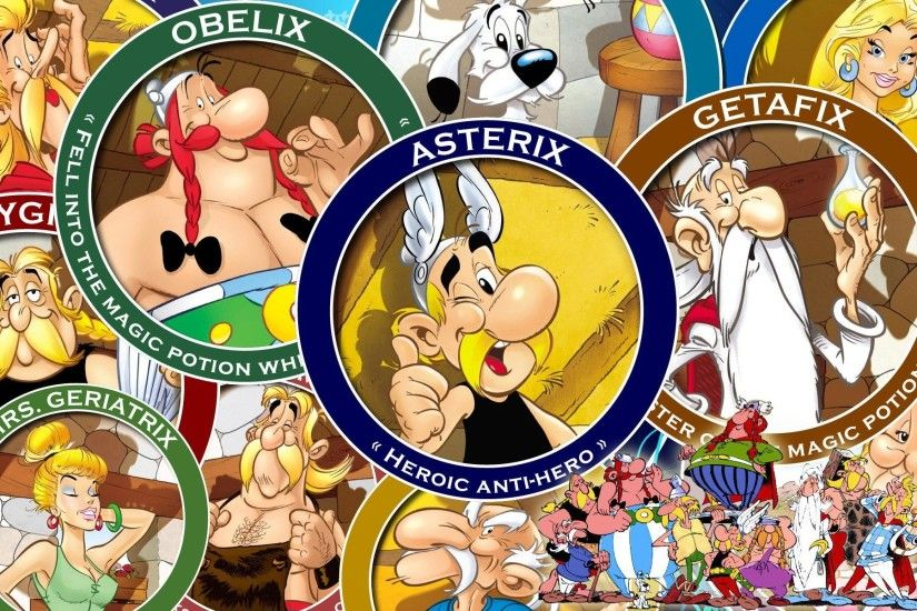 wallpaper desktop asterix by Caldwell Williams