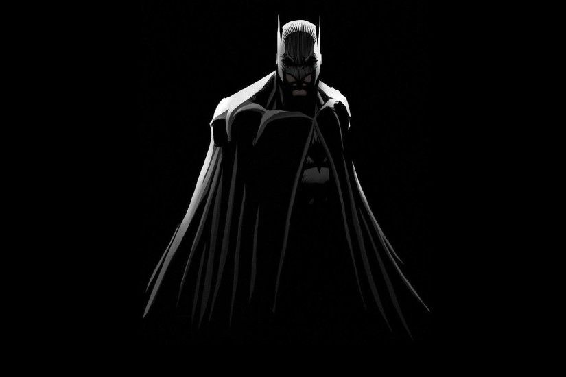 ... Batman in the darkness in The Dark Knight wallpaper 1920x1080 ...