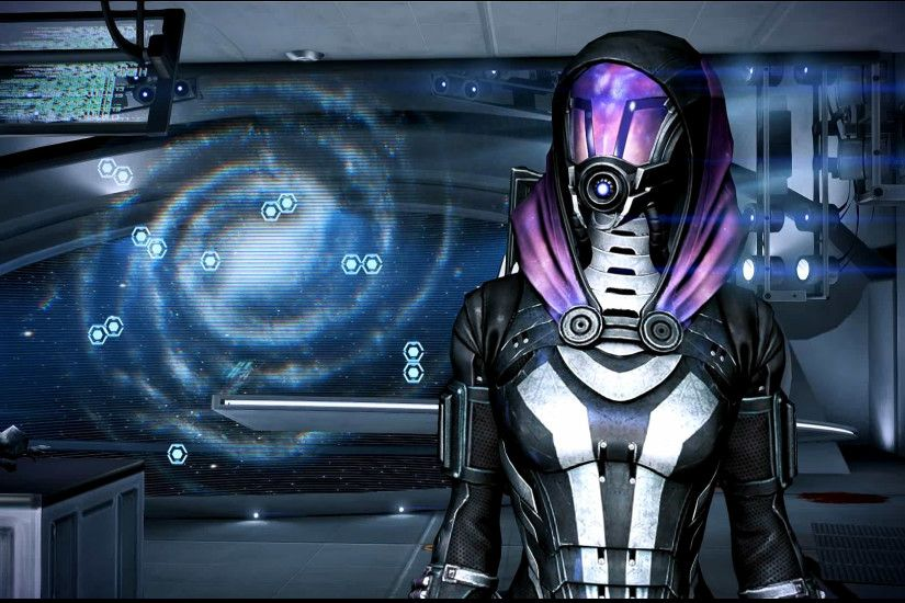 ... Mass Effect 3 Tali in Dr Brysons Office Dreamscene by droot1986