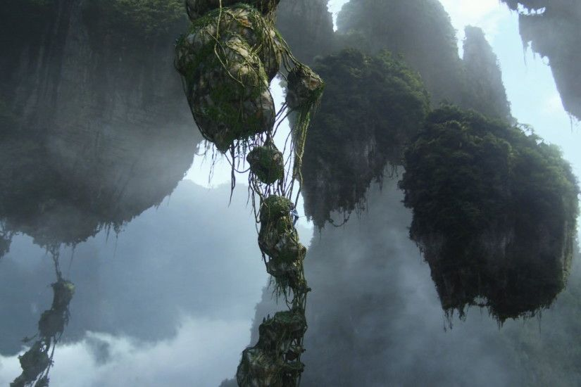 Floating Islands on Pandora from Avatar wallpaper - Click picture for high  resolution HD wallpaper