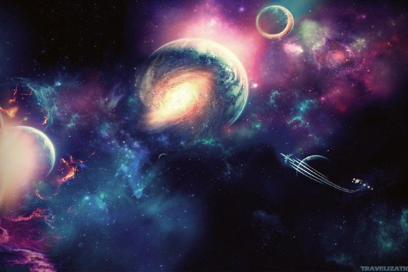 ... Wallpaper's Collection: «Space Backgrounds»