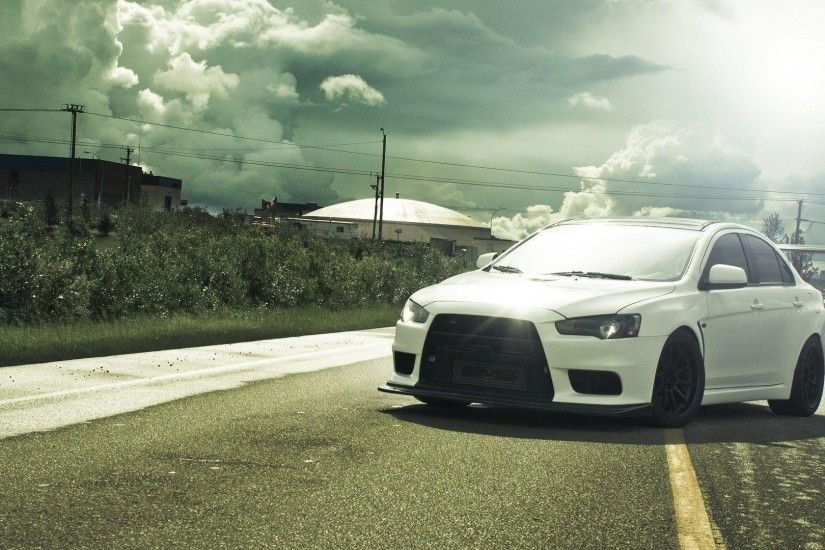Mitsubishi Lancer Evolution X Wallpaper #