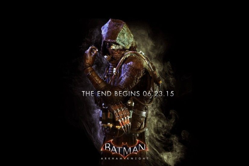 Batman Arkham Knight Scarecrow Poster Wallpaper