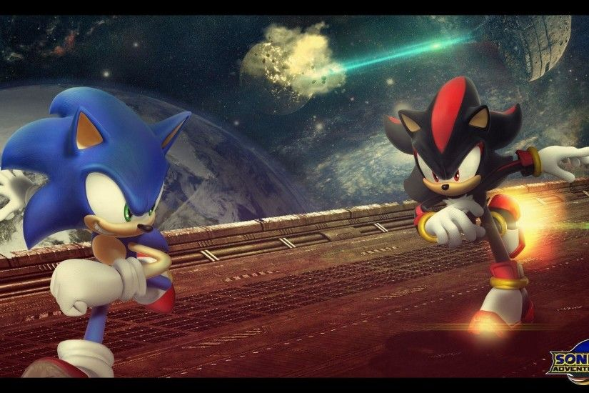 Sonic Adventure 2 Sonic Vs Shadow - Viewing Gallery