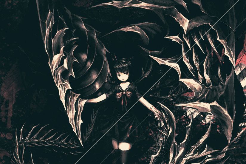 Anime Shadow Girl Wallpaper by Raykorn Anime Shadow Girl Wallpaper by  Raykorn