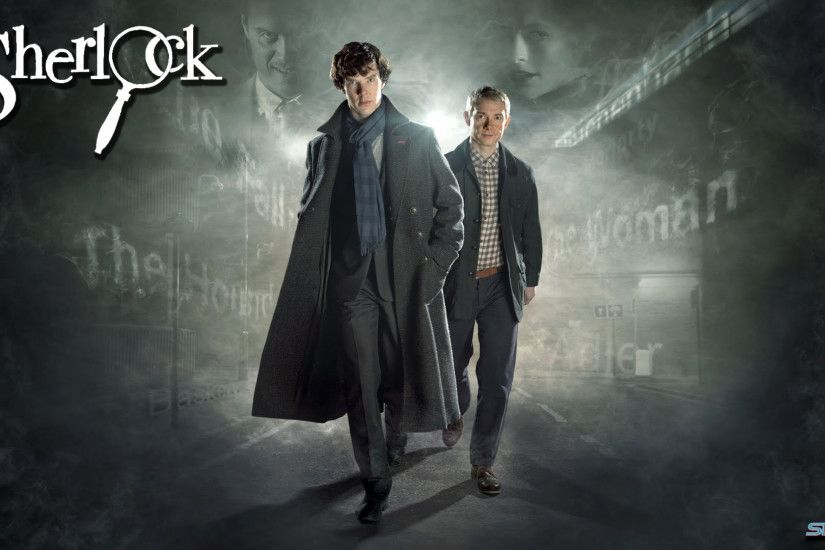 Here are a couple of wallpapers from the excellent Sherlock TV series, for  Penfold.