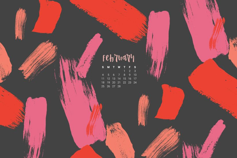 Download your FREE February 2018 desktop wallpaper calendars! There are 5  designs to choose from for desktop or mobile in both Sunday and Monday  starts.