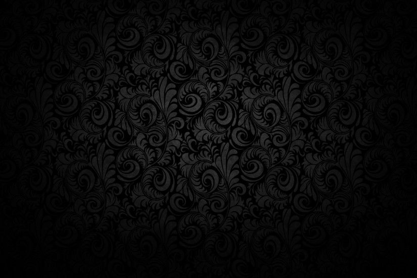 Black Floral Texture Pattern Design Wallpaper Background Wallpaper Res:  Added on , Tagged : wallpaper backgrounds black wallpaper with black  background at ...