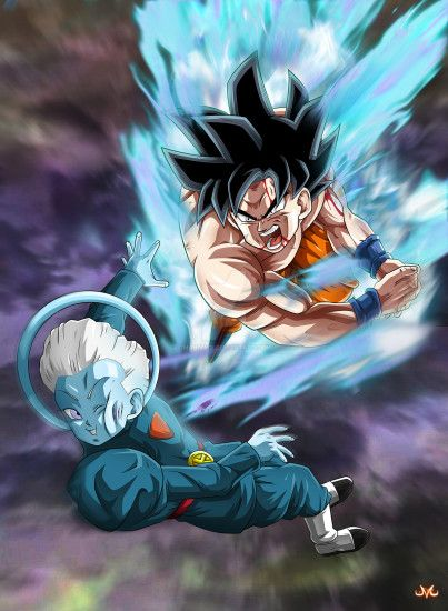 chlove-art 466 27 Limit Breaker Goku VS Grand Priest by Maniaxoi