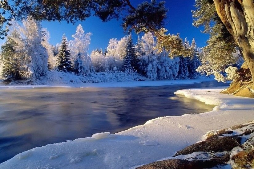 Beautiful Winter Scenery Wallpapers (42 Wallpapers)