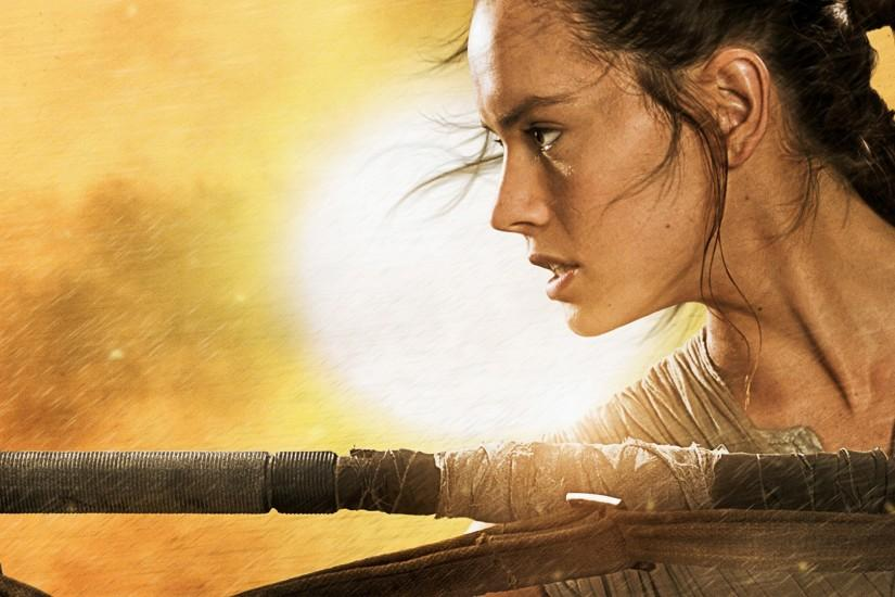 Star Wars The Force Awakens Rey Wallpapers | HD Wallpapers