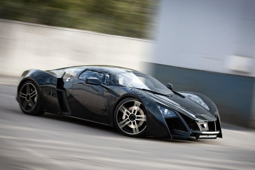Marussia B2 Supercar HD wallpapers