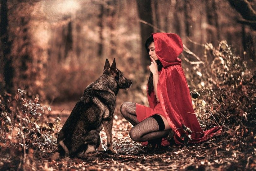 Little Red Riding Hood Wallpapers Hd