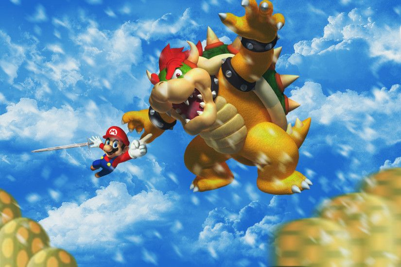 mario vs bowser by 3dbenjamin watch customization wallpaper other 2014 .