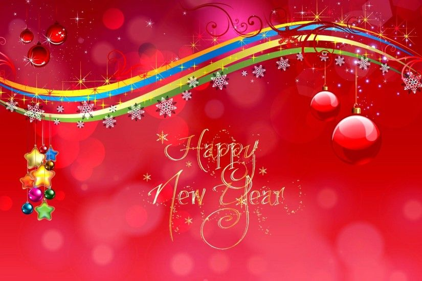Happy New Year HD Background Wallpaper 11214 - Baltana