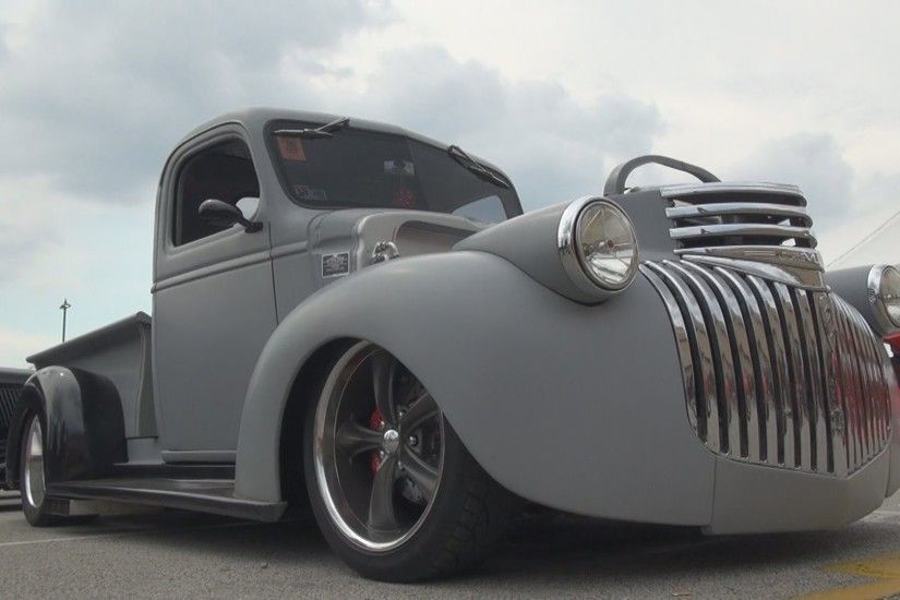 1946 Chevy Hot Rod/Rat Rod Pickup Truck - 2015 NSRA Nationals - YouTube
