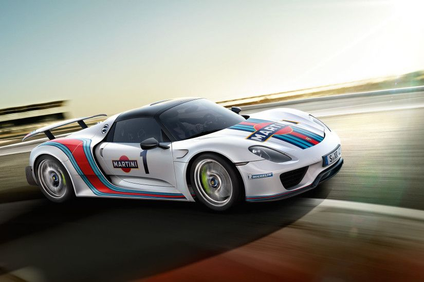 Porsche 918 Wallpaper Martini - image #86