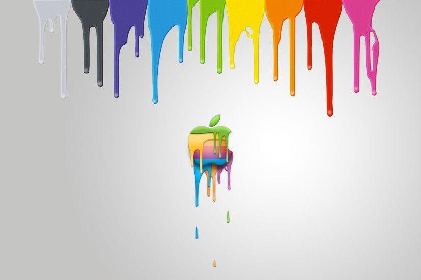Colorful Apple Background HD Desktop Wallpaper High Definition