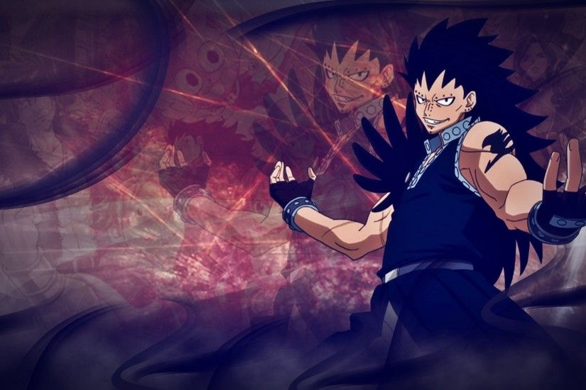 ... Gajeel Wallpaper - @Fairy Tail by Kingwallpaper
