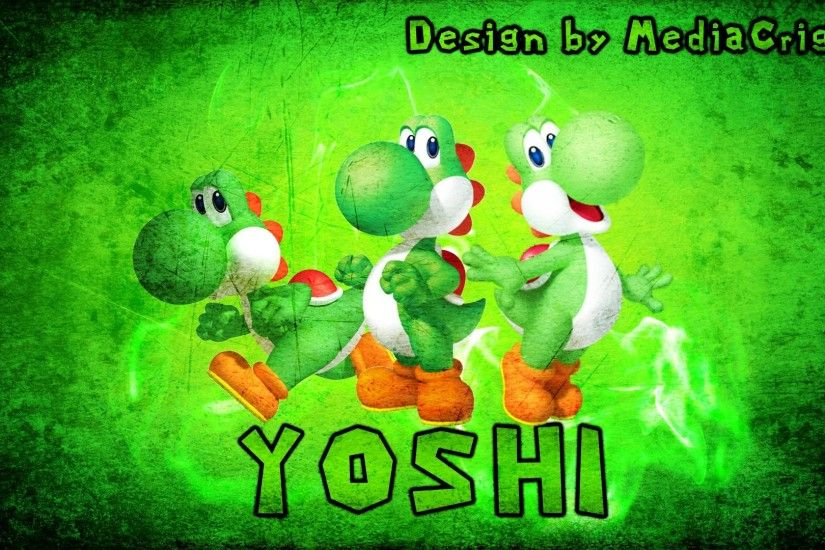 Yoshi Wallpaper by MediaCriggz on DeviantArt