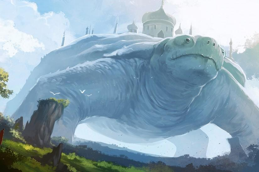 Fantasy giant turtle Wallpapers Pictures Photos Images · «
