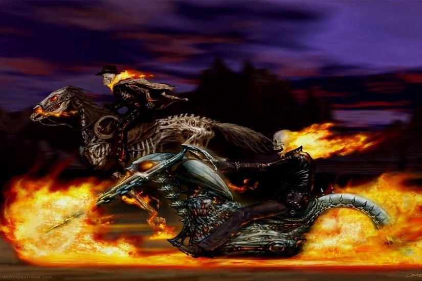 127 Ghost Rider HD Wallpapers | Backgrounds - Wallpaper Abyss