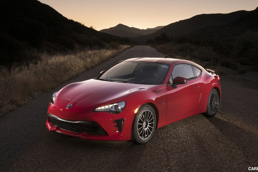 2017 Toyota 86 Red with TRD Accessories - Front Three-Quarter HD